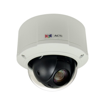 ACTi B912 5MP H.265 Outdoor Mini PTZ IP Security Camera with 10x Optical Zoom