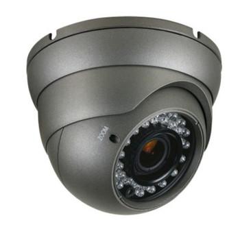 LTS 1000TVL Platinum Turret CCTV Analog Security Camera with Varifocal Lens (Black)