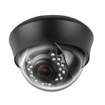 LTS 1.3MP Platinum Dome HD CCTV Security Camera - Varifocal Lens, WDR, Black