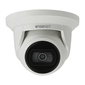 Samsung Hanwha QNE-8021R 5MP H.265 IR Outdoor Turret IP Security Camera with 4mm Fixed Lens