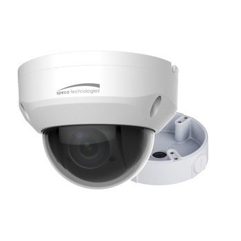 Speco O4P4X 4MP Outdoor Mini PTZ IP Security Camera with 4x Optical Zoom