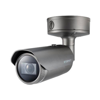 Samsung Hanwha PNO-A9081 4K Bullet IP Security Camera with Artificial Intelligence