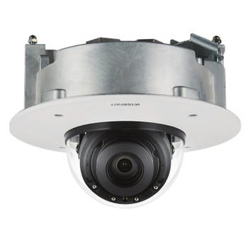 Samsung Hanwha XND-8081RF 5MP IR H.265 Indoor Dome IP Security Camera with Flush Mount