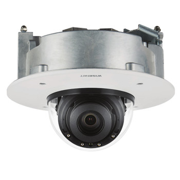 Samsung Hanwha XND-8081RF 5MP IR H.265 Indoor Dome IP Security Camera with Flush Mount