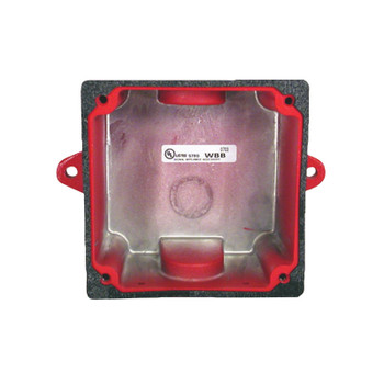Bosch WBB-R Weather-resistant Back Box, Red