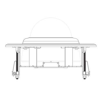 Bosch VDA-FMT-IP200DOME Flush Mount Ceiling Kit