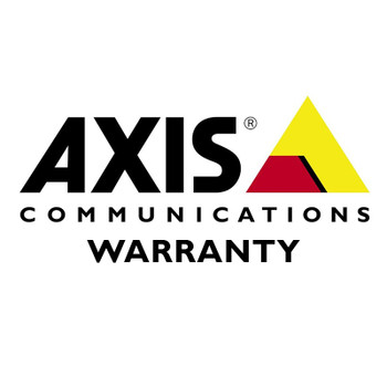 AXIS 01072-600 2 Year Extended Warranty for AXIS P3905-R Mk II 1072-001