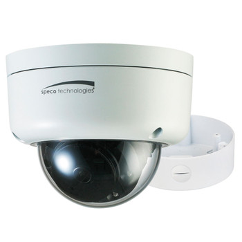 Speco O3FD8M 3MP Outdoor IR Dome IP Security Camera with Motorized Lens