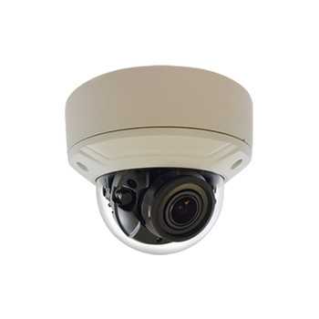 ACTi A818 6MP IR H.265 Outdoor Dome IP Security Camera with Superior WDR