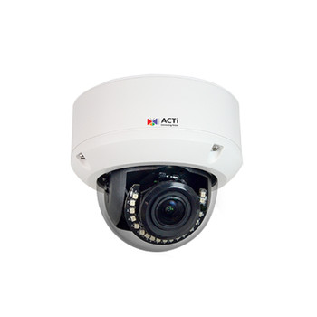 ACTi A86 5MP IR H.265 Outdoor Dome IP Security Camera with Face, People and Car Detection