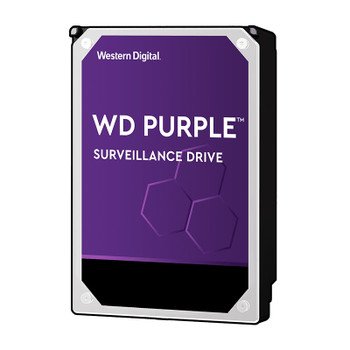 Western Digital WD101PURZ 10TB Purple Surveillance Hard Drive - 256 MB Cache, 7200 rpm