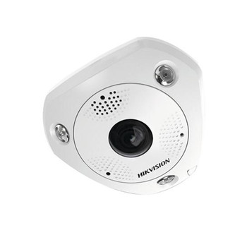 Hikvision DS-2CD6365G0E-IVS 1.27MM 6MP IR H.265+ Outdoor Fisheye IP Security Camera