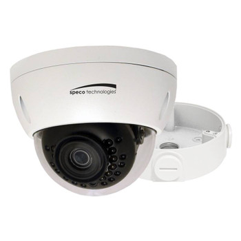 Speco O4VLD1 4MP IR Outdoor Dome IP Security Camera with 2.8mm Fixed Lens