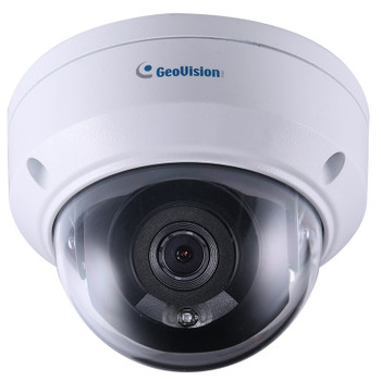 Geovision GV-TDR2702-0F 2MP IR H.265 Outdoor Mini Dome IP Security Camera with 2.8mm Fixed Lens