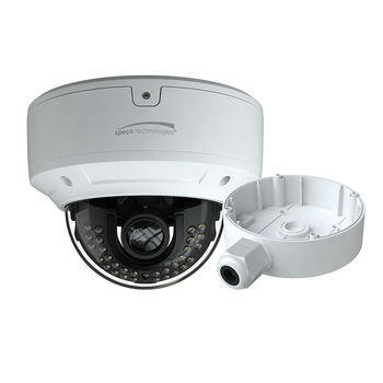 Speco O4D7M 4MP H.265 Outdoor Dome IP Security Camera with Advanced Analytics