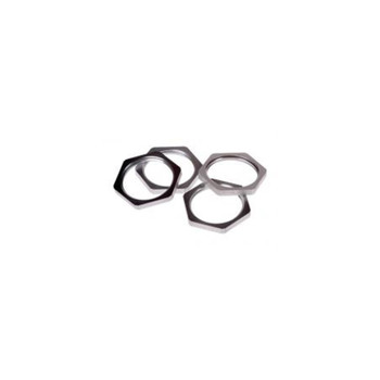 "AXIS 3/4"" Conduit Locknut A, 4 pieces - 01512-001"