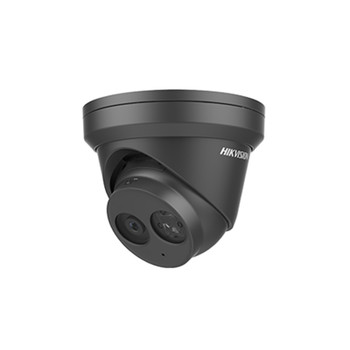 Hikvision DS-2CD2343G0-IB 4MM 4MP Outdoor IR Turret IP Security Camera (Black)