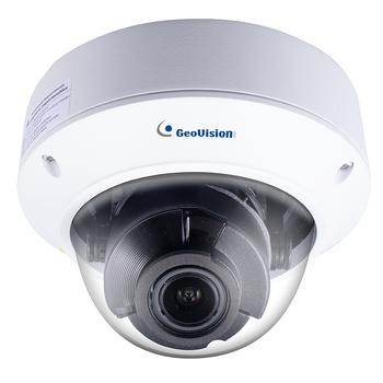 Geovision GV-TVD4700 4MP IR H.265 Outdoor Dome IP Security Camera, 2.8~12mm Varifocal Lens