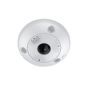 LTS CMIP7562NF-SE 6.3MP IR H.265 Outdoor Fisheye IP Security Camera with Built-in Microphone