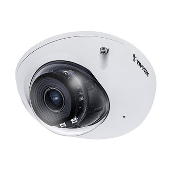 Vivotek MD9561-HF3 2MP H.265 IR Mobile Outdoor Dome IP Security Camera with WDR Pro and M12