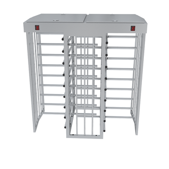Full Height Dual Gate Turnstile Premium Series
