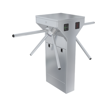 Waist Height Double Sided Single Leg Turnstile TS-50-D