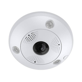 LTS CMIP75122NF-SE 12MP IR Outdoor Fisheye IP Security Camera with Built-in Microphone, Speaker