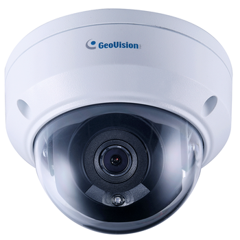 Geovision GV-TDR4703-2F 4MP IR H.265 Outdoor Dome IP Security Camera with 2.8mm Fixed Lens