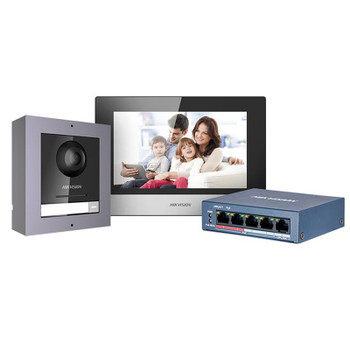 Hikvision DS-KIS602 Modular IP Video Intercom Kit