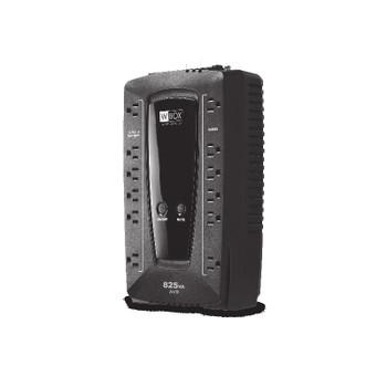 W Box 0E-825V12VRD Battery Backup Standby Line-Interactive Ups, 825va/480w