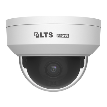 LTS VSIP7182W-28 8MP 4K IR H.265 Outdoor Dome IP Security Camera with 2.8mm Fixed Lens