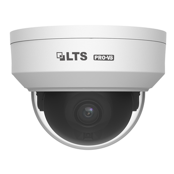 LTS VSIP7442W-28S 4MP IR H.265 Outdoor Dome IP Security Camera with 2.8mm Fixed Lens