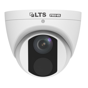 LTS VSIP3442W-28MA 4MP H.265 Outdoor IR Turret IP Security Camera with 2.8mm Fixed Lens