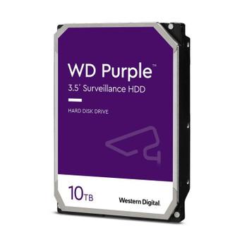 Western Digital WD102PURZ 10TB Purple Surveillance Hard Drive - 7200 RPM, 256 MB Cache