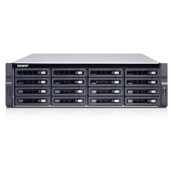 QNAP TDS-16489U-SF3-R2-US Diskless 16-Bay High Performance Rackmount NAS with 256GB RAM and Intel E5-2630 v4