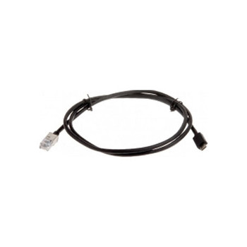 AXIS F7301 1m Black Cable with RJ12 and micro USB connectors for use with compatible sensor units, 4pcs - 01552-001