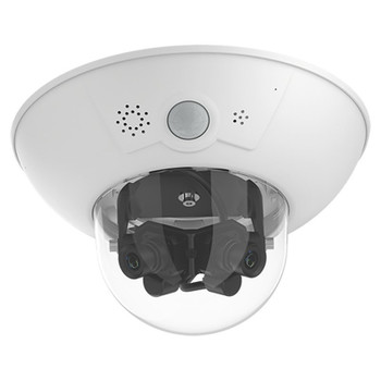 Mobotix MX-D16B-P-6D6D041 6MP Outdoor Multi-sensor IP Security Camera with Speaker, Microphone, PIR Sensor