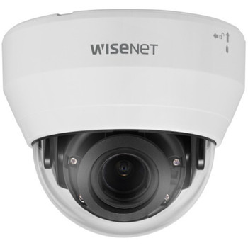 Samsung Hanwha LND-6022R 2MP IR Indoor Dome IP Security Camera with 80 degree field of view
