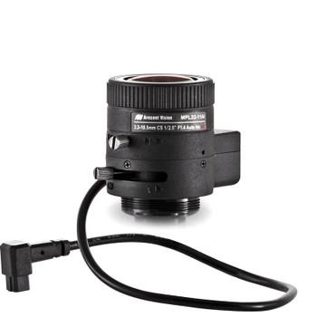 Arecont Vision MPL33-12AI CCTV Camera Lens, 3.3-11mm, 1/2.5, f1.4 CS-mount, IR corrected, DC Auto Iris