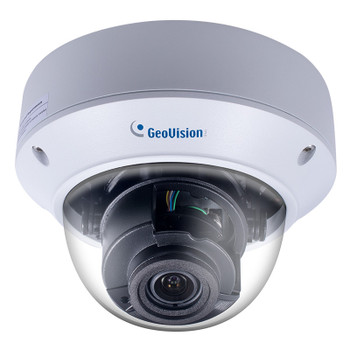 Geovision GV-TVD8810 AI Deep-Learning 8MP H.265 Outdoor Dome IP Security Camera with 4.3x Optical Zoom