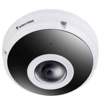 Vivotek FE9382-EHV-v2 6MP Outdoor Fisheye IP Security Camera with Night Vision, H.265, Built-in Microphone, 360-degree FOV