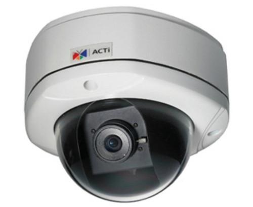 ACTi KCM-7111 Outdoor 4MP Fixed Dome Security Camera - 2.8mm Fixed Lens, 1080p, Weatherproof, Vandal Proof