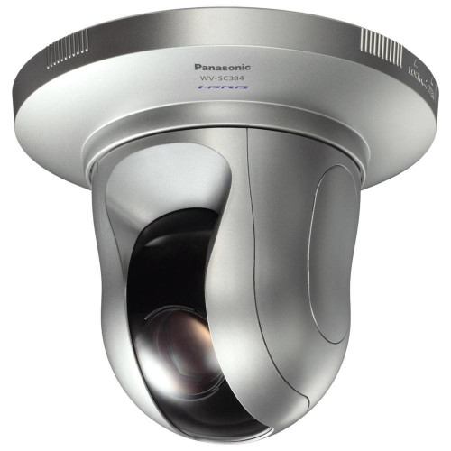 Panasonic WV-SC385 I-Pro 1.3MP Indoor PTZ IP Security Camera - 18x Optical Zoom