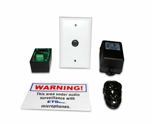 ETS SM5 Single Zone Audio Surveillance Kit