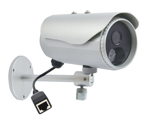 "ACTi D32 3MP IR Outdoor Bullet IP Security Camera - 4.2mm Fixed Lens, 1/3.2"" CMOS, Day/Night, 15fps at 2048 x 1536, Weatherproof"