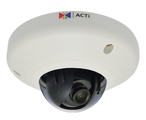 "ACTi D92 3MP Indoor IP Mini Dome Security Camera - 2.93mm Fixed Lens, 1/3.2"" CMOS, 30fps at 1080P, H264, DNR, Vandal Proof"