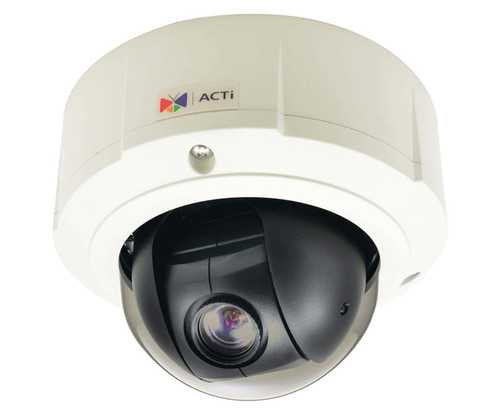 ACTi B95 1080p HD Outdoor 10x PTZ Dome IP Security Camera