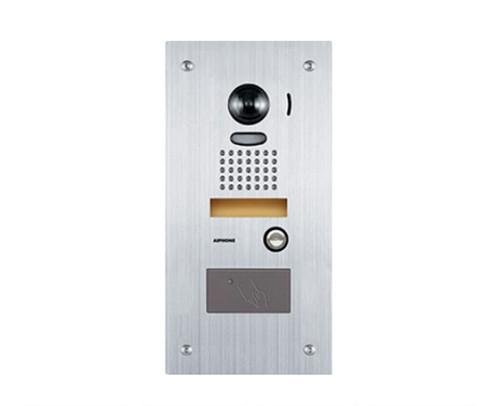 Aiphone JK-DVF-HID Vandal Resistant Color Video Door Station - Built-in Proximity Card Reader