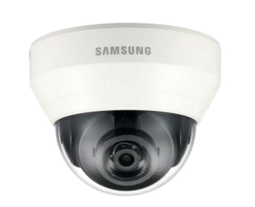 Samsung SND-L6013 2MP Indoor Dome IP Security Camera - 3.6mm Fixed Lens Built-in Microphone