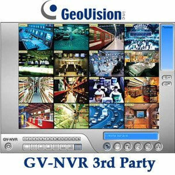 Geovision GV-NR012 GV-NVR Software for 3rd party IP cameras 12 CH 55-NR012-000